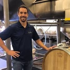 Dusty Nabor in his winery
