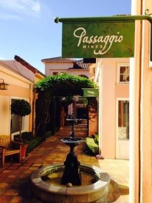 Passaggio Wines tasting room in Sonoma California