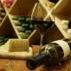 Bottles of Waterstone Wine in a cellar